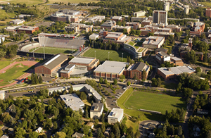 WSU from the air